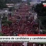 Caravana-PSUV Ciudad Ojeda, Zulia